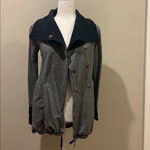Vintage LULULEMON long wrap sweatshirt size 4